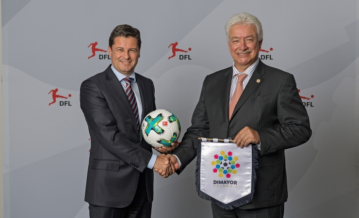 DFL and Colombia's DIMAYOR sign cooperation agreement
